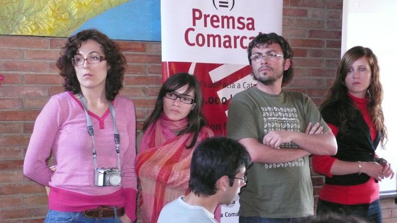 El grup destudiants de la UMH que participa a Canyamars