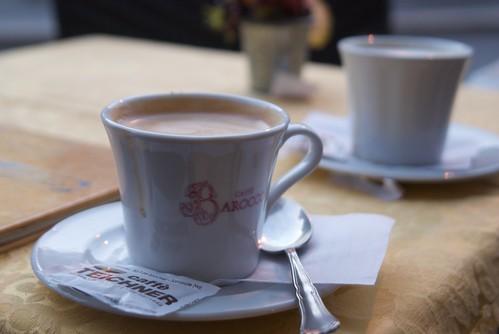 Cafe en Plaza Navona