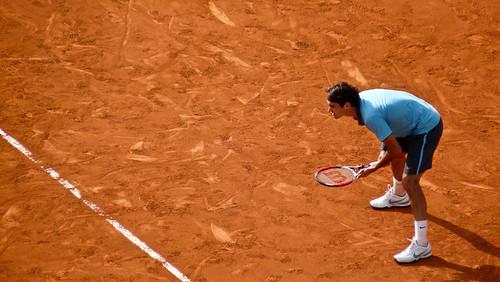 Roger Federer - 1/2 finale de Roland Garros 2009 - semi final - tennis french open