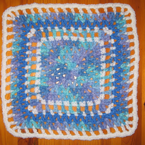 Veritable V-Stitch, finished pattern, swap block #6