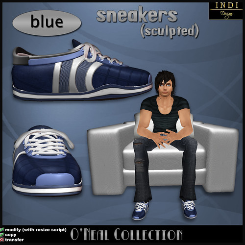 O'Neil sneakers blue