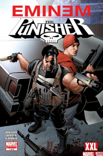 Eminem Punisher Marvel Limited Series