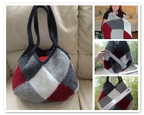 Mitred Diamond Bag