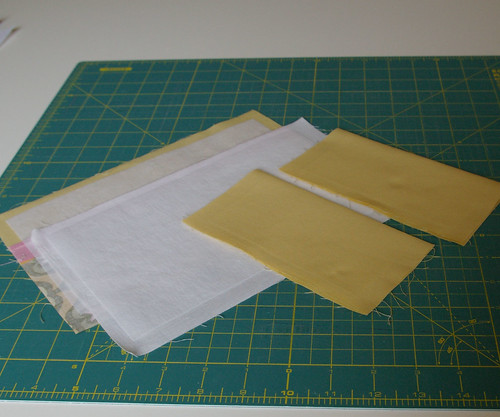 Press pockets in half wrong sides together by you.