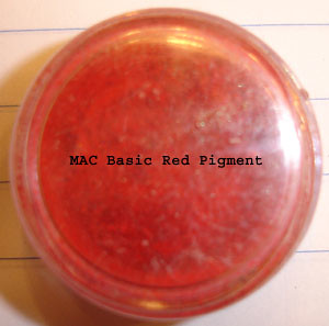 MAC Basic Red Pigment