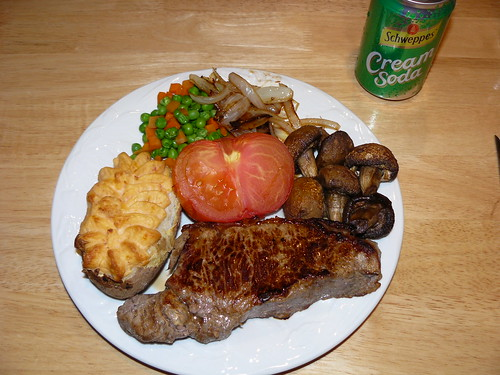 Home-cooked Valentine's Day Steak Dinner by you.