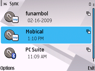 Mobical SyncML Profile
