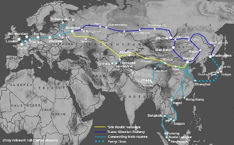 The Silk Route & Central Asia by train
