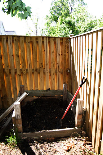 Different view of my compost.