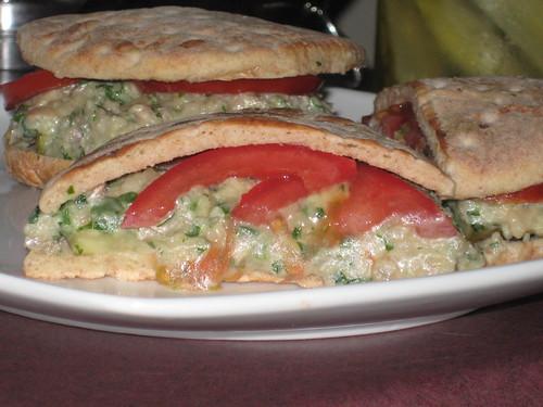 Cannellini Bean Sandwiches