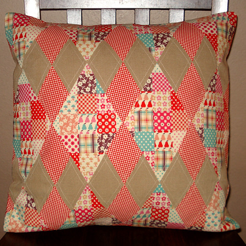 Argyle Cushion Cover