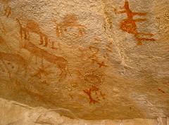 Sahara - Tassili N'Ajjer - Peintures rupestres