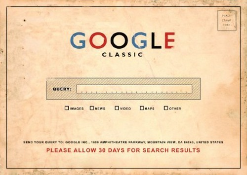 We all remember using Google this way.