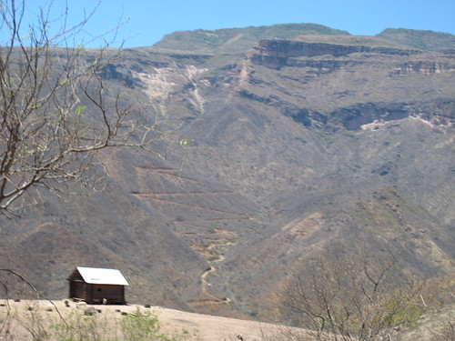 Winding down the canyon walls