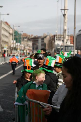 St. Patrick's Day Parade in Dublin, Ireland