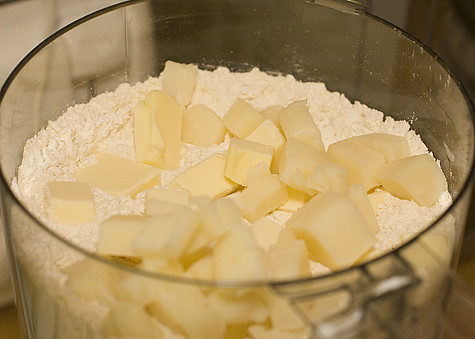 Cubes of Butter and Shortening