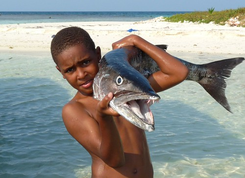 Big Baracuda Catch, Placencia, Belize