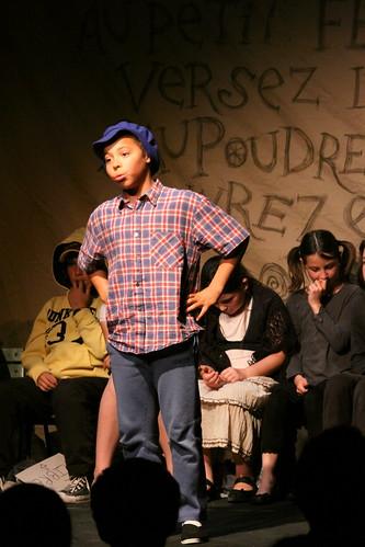 Spectacle de théâtre : Adrien en pleine action