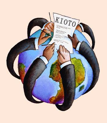 Protocolo de Kioto cumple cuatro años.