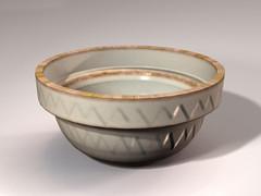 Beautiful miniature mixing bowl from Digital Dollhouse.com