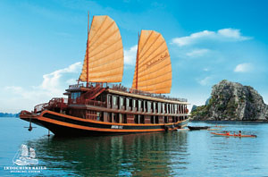 Halong bay tours - Indochina sails by you.