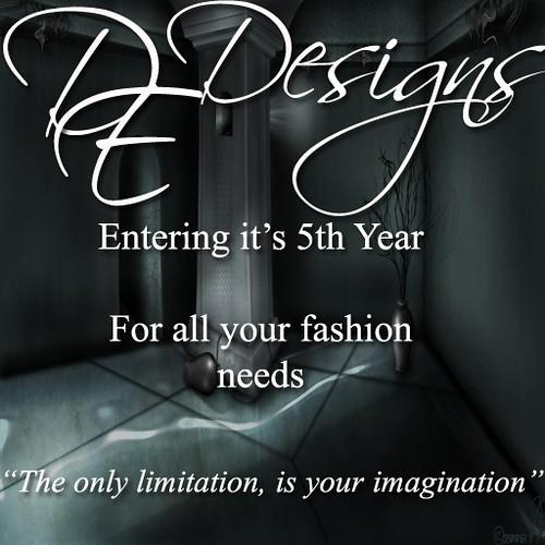 DE Designs Logo