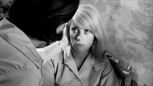 Catherine Deneuve in Repulsion (1965), by Roman Polanski.