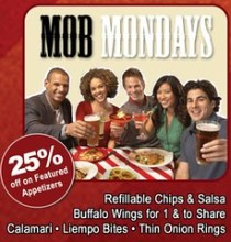 TGI Fridays Mob Mondays