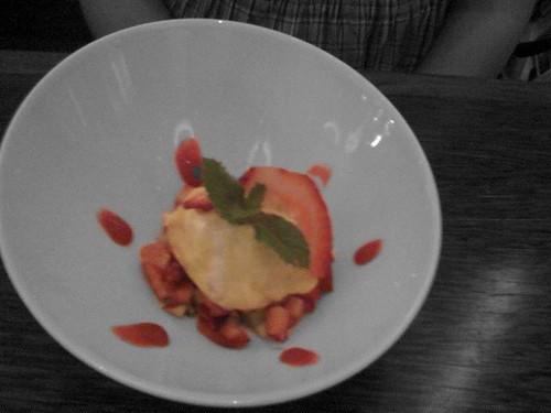 Dessert at Doza