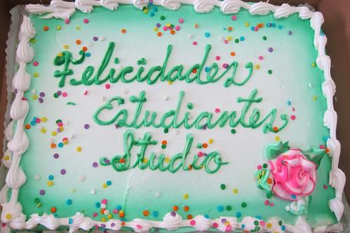 SMUM Studio cake
