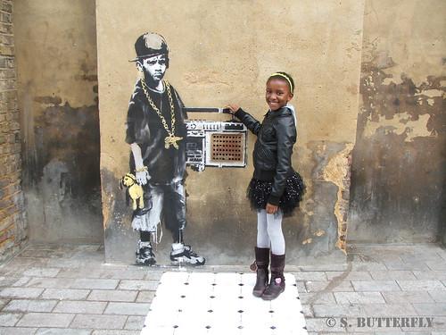 Banksy - Gillett Square