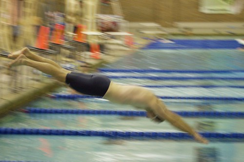 Rob starting 500 freestyle