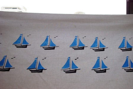 PRINT - Blue Yatch1
