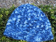 Chunky Dean Street Hat, Malabrigo Chunky, Oceanos