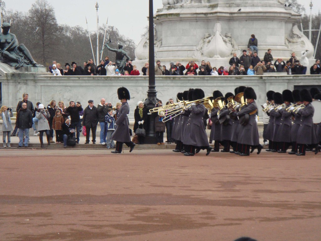 Cambio de guardia en el Buckingham's Palace
