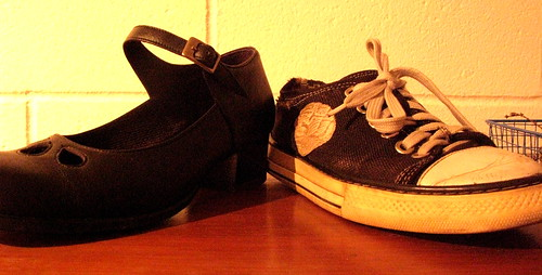 the gender binary in vegan shoes