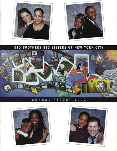 Big Brothers Big Sisters of New York City Annual Report 1997