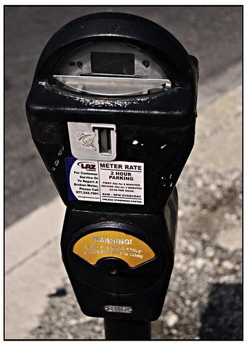 Another Broken Parking Meter