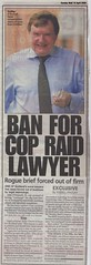 John G O Donnell Sunday Mail 19 April 2009