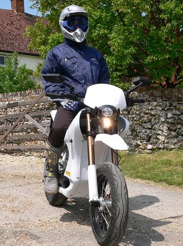 The Zero S is one sexy electric motorbike.