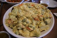 Mixed Veg in Creamy Gujarati-style Karhi Sauce