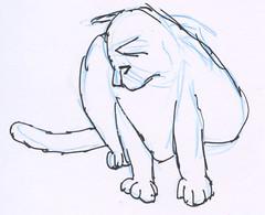 Cats, part 12 (rough sketch)