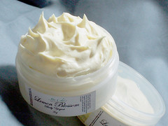 LEMON BLOSSOM Body Yogurt with Goats Milk Shea Butter and Botanical Extracts