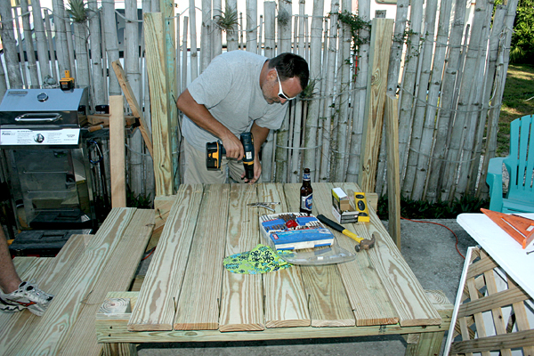 Adding Deck Boards