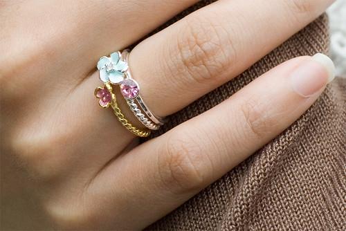 ●Lovely Story ● 忽然的求婚花束 三環戒
