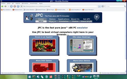 emulador de pc hecho en Java