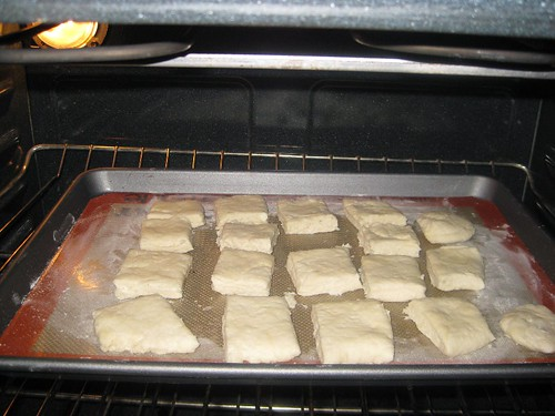 Bake the biscuits