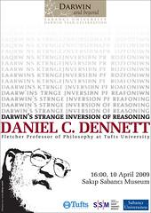 Daniel C. Dennett @ Sakıp Sabancı Müzesi: Darwins Strange Inversion of Reasoning