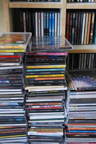 Some of my many cds