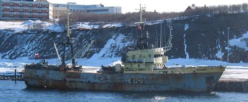 Schiff aus Russland